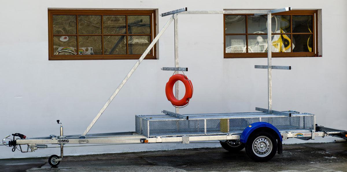 Rimorchio Kayak
