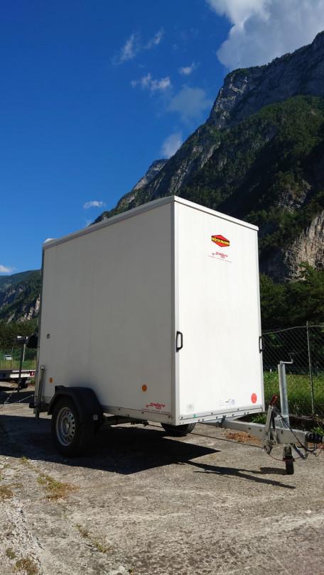 Rimorchio furgonato 250x230 5